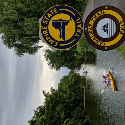 Chittenango Paddlers and EST Sign