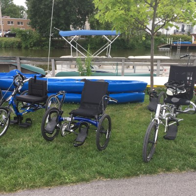 Accessible Bikes at Fairport